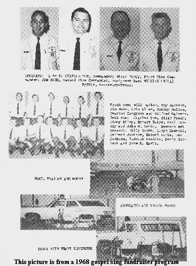 1968 Picture of the Hoke County Rescue Squad